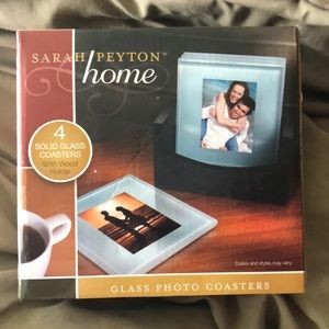 Glass photo coasters 🆕 listing